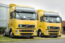 Trucks lorries transportation